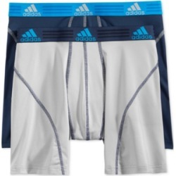 adidas Men's Climalite 2 Pack Boxer Brief found on MODAPINS from Macy's for USD $19.50