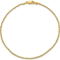 Ropa Anklet in 14k Yellow Gold