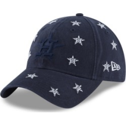 New Era Women's Houston Astros Logo Scatter Adjustable 9TWENTY Cap found on Bargain Bro India from Macy's for $26.00