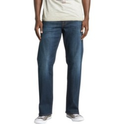 Silver Jeans Co. Men's Zac Relaxed Fit Straight Jeans found on MODAPINS from Macy's for USD $89.00