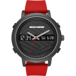 Skechers Men's Lawndale Silicone Strap Watch 46.5mm found on Bargain Bro India from Macy's Australia for $52.92