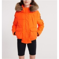 Superdry Ella Everest Bomber Jacket found on MODAPINS from Macy's for USD $112.46