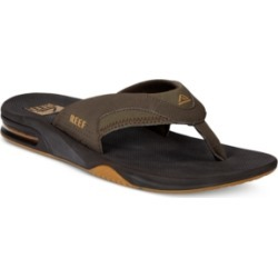 Reef Men's Fanning Thong Sandals with Bottle Opener Men's Shoes found on Bargain Bro India from Macy's for $60.00