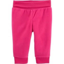 Carter's Baby Girls Hot Pink Fleece Pants
