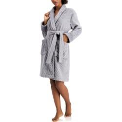 Charter Club Short Chevron Cozy Robe, Created for Macy's