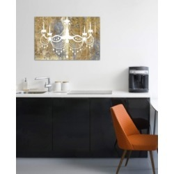 "iCanvas ""Gilded Chandelier"" by Wild Apple Portfolio Gallery-Wrapped Canvas Print (26 x 40 x 0.75)"