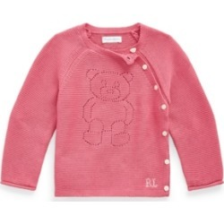 Ralph Lauren Baby Boys Pointelle-Knit Polo Bear Sweater found on Bargain Bro Philippines from Macy's for $45.00