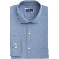 Club Room Men's Classic/Regular-Fit Performance Stretch Chambray Dress Shirt, Created for Macy's