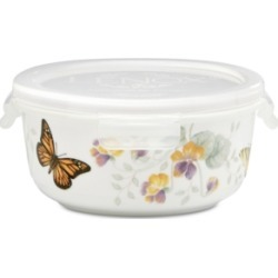 Lenox Butterfly Meadow Round Serve-n-Store with Lid found on Bargain Bro India from Macy's Australia for $21.07