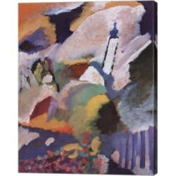 Metaverse Kirche in Murnau, 1910 by Wassily Kandinsky Canvas Art, 21.5