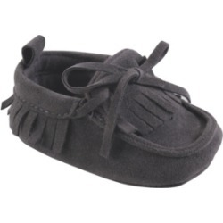 Baby Vision Baby Boys and Girls Hudson Baby Moccasins