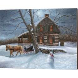 Winter Moonlight By Kevin Dodds Canvas Art