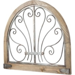 American Art Decor Rustic Wood Arched Wall Decor found on Bargain Bro India from Macy's for $149.99
