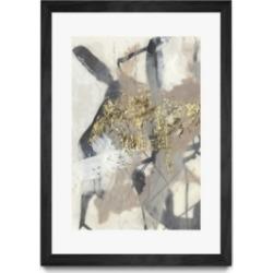 """Giant Art Golden Blush I Matted and Framed Art Print, 36"""" x 52"""""""