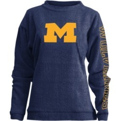Pressbox Women's Michigan Wolverines Comfy Terry Sweatshirt found on Bargain Bro India from Macy's for $41.00
