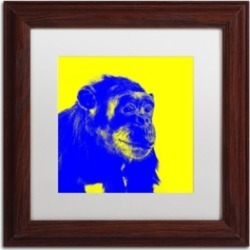 Claire Doherty 'Chimp No 2' Matted Framed Art - 11