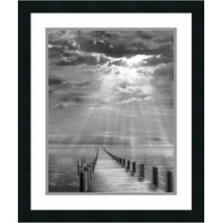 Amanti Art Storm Clearing Framed Art Print