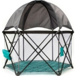 Baby Delight Go With Me Eclipse Deluxe Portable Playard With Canopy