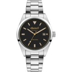 Reliance Automatic with Stainless Steel Case and Bracelet and Black Dial