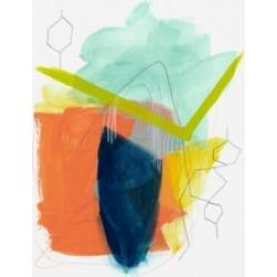 June Erica Vess Fringe Aspect Ii Canvas Art - 37