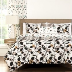 Siscovers Tanglewood 6 Piece Full Size Luxury Duvet Set Bedding