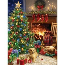 Springbok Puzzles Christmas Morning 1000 Piece Jigsaw Puzzle found on Bargain Bro India from Macy's for $17.99