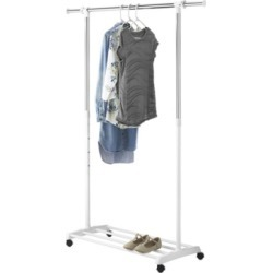 Whitmor Adjustable Garment Rack found on Bargain Bro India from Macy's for $38.99
