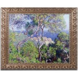 Monet 'Bordighera 1884' Ornate Framed Art - 16