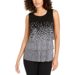 Alfani Printed Layered Top, Created for Macy's found on Bargain Bro Philippines from Macy's Australia for $62.90