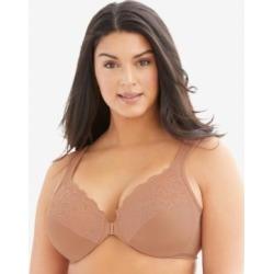 Glamorise Women's Full Figure Wonderwire Front Close Bra #1245 found on Bargain Bro India from Macys CA for $53.51