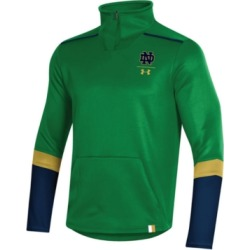 Under Armour Men's Notre Dame Fighting Irish Team Issue Quarter-Zip Pullover found on Bargain Bro India from Macy's for $95.00