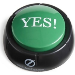 Zany Toys The Yes! Button found on GamingScroll.com from Macy's Australia for $10.64