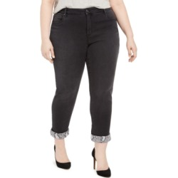 Inc Plus Size Snake Skin Cuff Jeans, Created For Macy's found on Bargain Bro India from Macy's Australia for $15.86