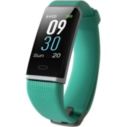 Body Glove Green Rubber Band Activity Tracker and Heart Rate Monitor Watch 19mm