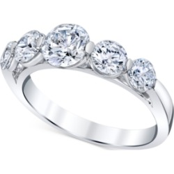 Diamond Graduated Band (2 ct. t.w.) in 14k White Gold found on Bargain Bro Philippines from Macy's for $9600.00