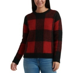 Lucky Brand Buffalo-Plaid Sweater