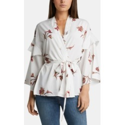 Silver Jeans Co. Printed Tie-Waist Kimono found on MODAPINS from Macys CA for USD $71.46