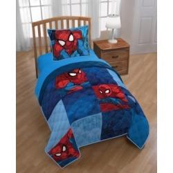 Marvel Spiderman 2-Piece Twin/Full Quilt Set Bedding