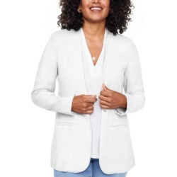 Nydj Collarless Open-Front Blazer found on MODAPINS from Macys CA for USD $54.18