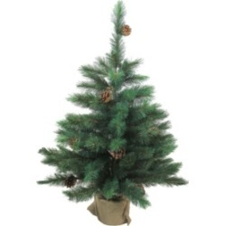 Northlight 3' Royal Oregon Pine Artificial Christmas Tree in Burlap Base - Unlit found on Bargain Bro India from Macys CA for $72.87