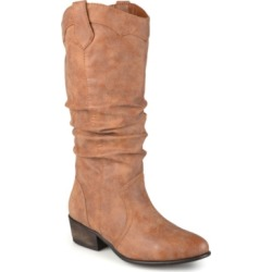 Journee Collection Women's Wide Calf Drover Boot Women's Shoes found on Bargain Bro India from Macy's for $99.00