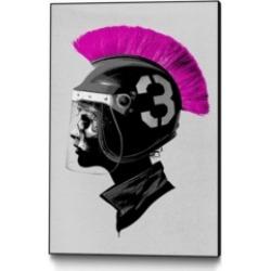 "Eyes On Walls Hidden Moves Player Vs Player Art Block Framed 24"" x 36"""