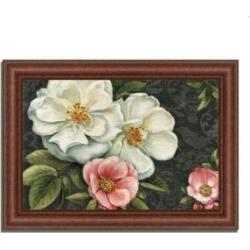 Tangletown Fine Art Floral Damask I by Lisa Audit Framed Painting Print, 43