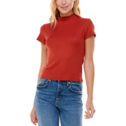 Ultra Flirt Juniors' Cutout Back Ribbed Mock-Neck Top found on Bargain Bro from Macy's for USD $18.24