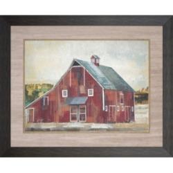 """Paragon Barn Silo- Midland Framed Wall Art, 37"""" x 45"""""""