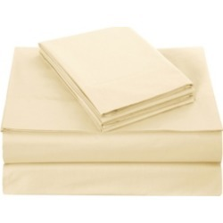 EnvioHome Cotton Sheet Set, Full Bedding