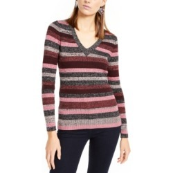 Inc Metallic-Stripe Sweater, Created For Macy's found on Bargain Bro Philippines from Macy's Australia for $73.47