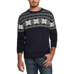 Weatherproof Vintage Men's Snowflake Pattern Sweater found on MODAPINS from Macy's Australia for USD $25.71