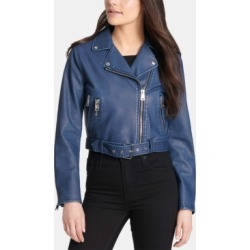 Levi's Faux-Leather Moto Jacket found on MODAPINS from Macy's for USD $59.99
