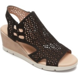 Rockport Women's Hadley Bungee Wedge Women's Shoes found on Bargain Bro India from Macy's for $90.00